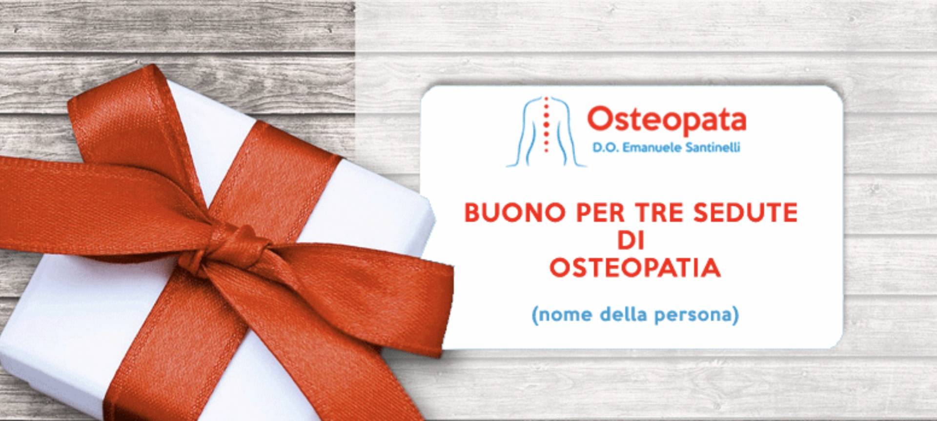 Buono seduta di Osteopatia a Firenze